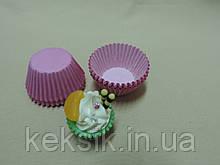 Тарталетки mini цветные 100шт розовые