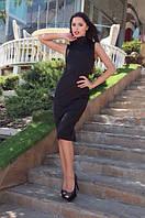 Платье женское стильное.Ткань дайвинг. Размеры с м л. TP 1011