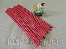 Lollipop красные укр 50 шт 15см