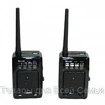 Радиоприемник с рацией GOLON RX-D3 USB/SD/АКБ 2шт, фото 2