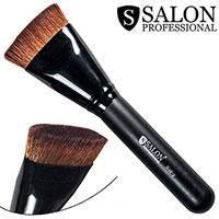 Salon Prof. Кисть для макияжа N 18-2 (большая) овальная прямой-срез 15х35мм