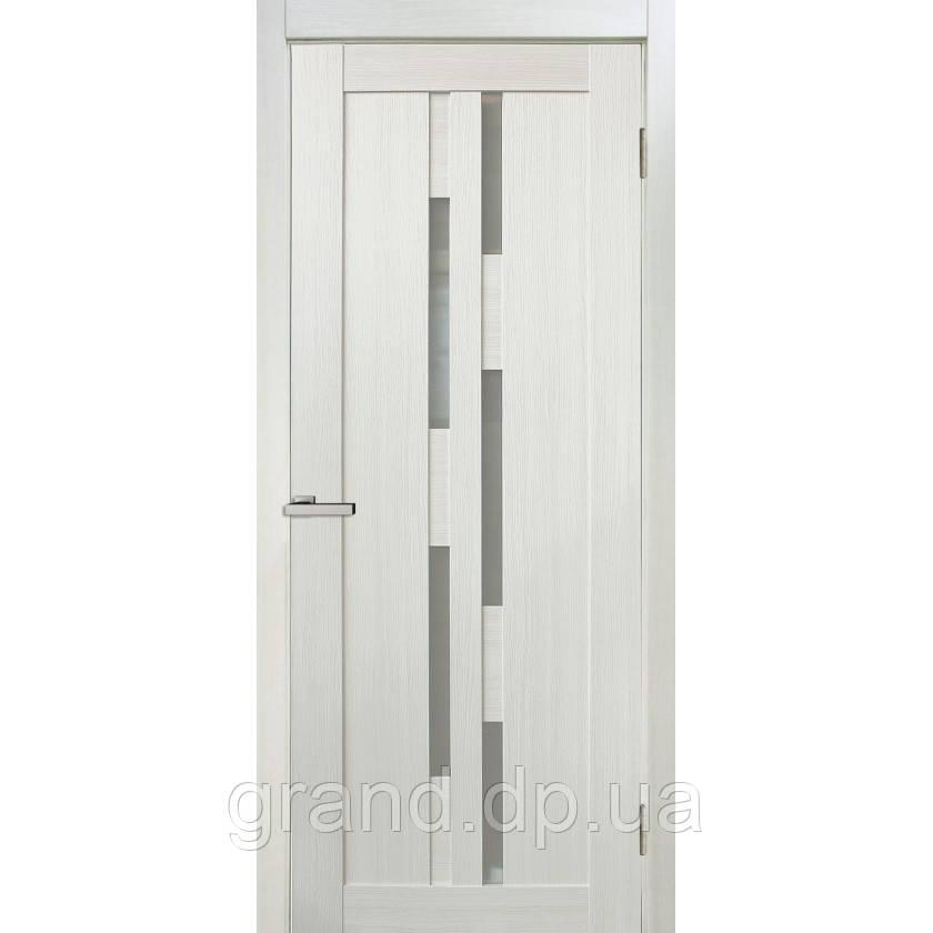 """Дверь межкомнатная """"08 Cortex"""" с матовым стеклом, цвет дуб bianco"""