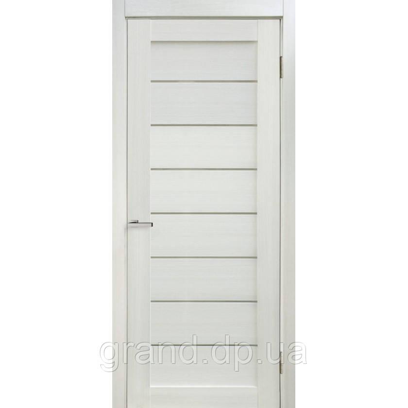 """Дверь межкомнатная """"10 Cortex"""" с матовым стеклом, цвет дуб bianco"""
