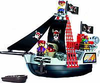 Конструктор Пиратский корабль с людьми Abrick, Ecoiffier