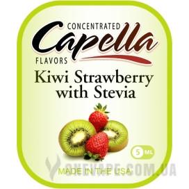 Ароматизатор Capella Kiwi Strawberry with Stevia (Киви с Клубникой)