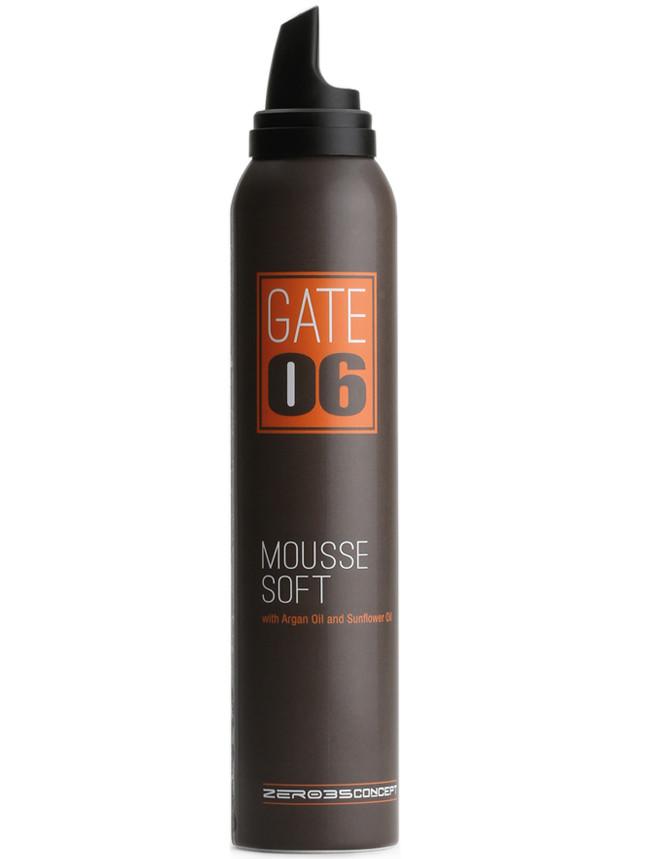 Мусс легкой степени фиксации Эммеби GATE 06 Mousse Soft, 200 мл