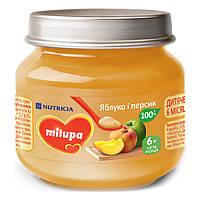 Пюре Milupa Яблоко и персик, 100 г 122206 ТМ: Milupa