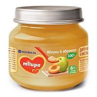 Пюре Milupa Яблоко и абрикос, 100 г 122207 ТМ: Milupa