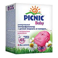 Электрофумигатор + жидкость от комаров Picnic Baby 45 ночей, 30 мл 220100045 ТМ: Picnic Baby