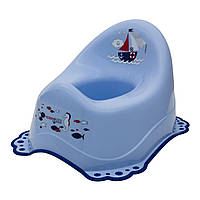 Горшок Maltex с резинками Океан, голубой  ТМ: Maltex