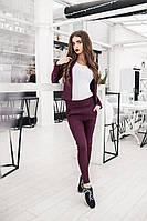 Женский джинсовый костюм брюки+жакет в разных цветах. Ткань: джинс. Размер: ХS-S, М , L-XL.
