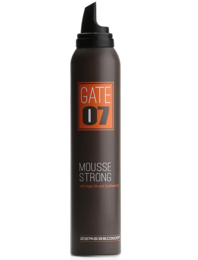 Мусс сильной фиксации GATE 07  Emmebi Mousse strong, 200 мл