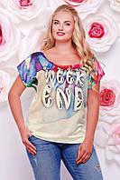 """Женская футболка """"Beauty"""" FB-1353I"""