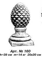Декоративные элементы Шишка арт.160