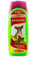 Шампунь Деликс Шарм для щенков с норковым маслом и экстрактом шиповника, 250 мл