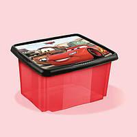 Ящик для игрушек Cars 24 литра Keeeper