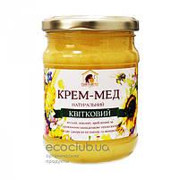 Крем-мед цветочный Пасека Правильный мед 350г