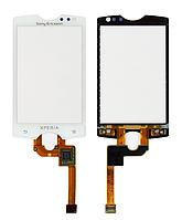 Оригинальный тачскрин / сенсор (сенсорное стекло) для Sony Ericsson Xperia Mini ST15i (белый цвет)