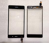 Оригинальный тачскрин / сенсор (сенсорное стекло) для Huawei P8 Lite (черный цвет)