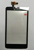 Оригинальный тачскрин / сенсор (сенсорное стекло) Alcatel One Touch Scribe Easy OT-8000 8000D 8000E (черный)