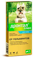 Дронтал (Drontal) плюс таблетки от гельминтов для собак 1 таб., Bayer (Байер)