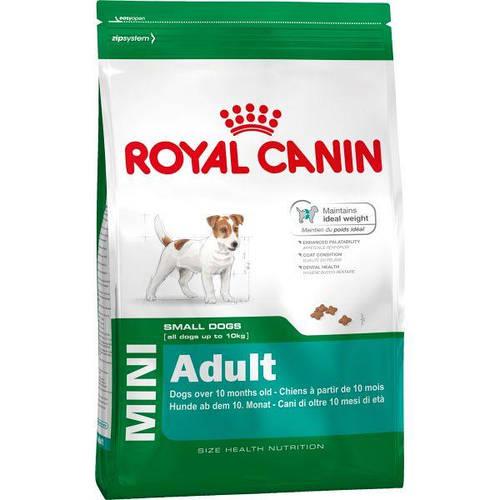 Royal Canin Royal Canin Adult Mini, корм для мелких пород собак (до 10кг), Вес/Цена 8кг, фото 2