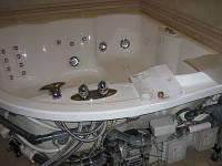 Установка гидромассажной ванной (без электричества)