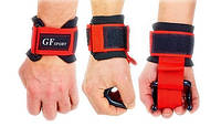 Крюки для тяги Kepai TA-8019 (2 шт) черно-красные