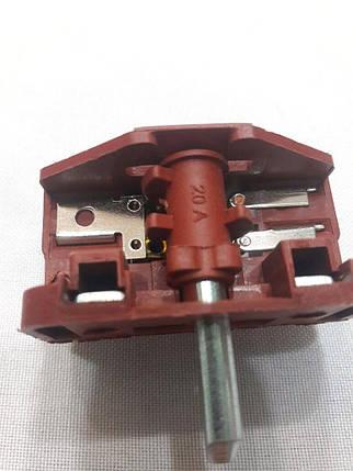 Переключатель 4-позиционный Tibon (2+2) на электроплиты (Ref 420 / 16А / 250V / Т125), фото 2