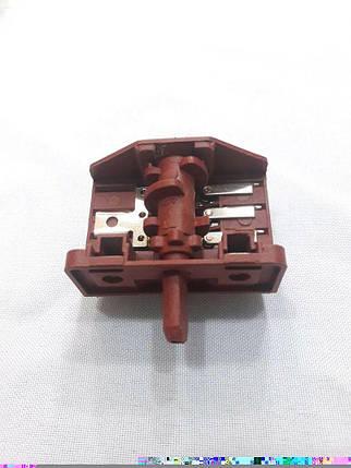 Переключатель 4-позиционный Tibon (2+3) на электроплиты (Ref 430 / 16А / 250V / Т125), фото 2