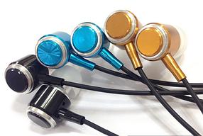 Наушники вакуумные BRUM M-8, с микрофоном, черные, фото 3