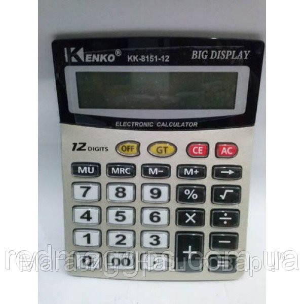 Калькулятор KENKO KK 8151-12A!Акция