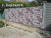 Профнастил Т-8 0,4мм Printech (Принтек) дикий камень,Украина(Black sea steel)