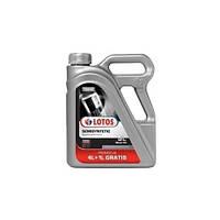 Полусинтетическое моторное масло Lotos 10w-40 (4л+1л)