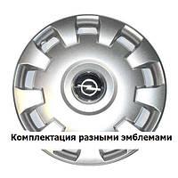 Колпаки гибкие R15 SKS-303 на Opel с логотипом разных авто