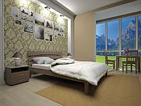 """Кровать """"Домино 3"""" из натурального дерева"""