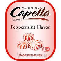 Ароматизатор Capella Peppermint Flavor (Перечная мята) 10 мл.