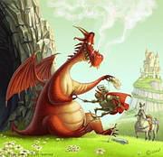 Сказки о драконах. История появления