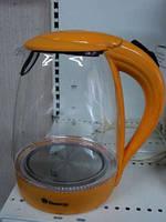Электрический чайник(стекло) DT 810!Акция
