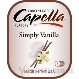 Ароматизатор Capella Simply Vanilla (Ваниль)