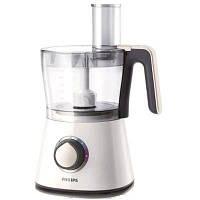 Кухонный комбайн Philips HR 7761/00 White / Silver (750 Вт, Объем чаши: 2 / 1,2 л, стационарный, Кл. Функций: