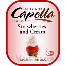 Ароматизатор Capella Strawberries and Cream (Клубника со сливками)