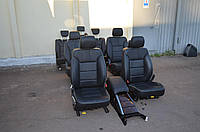 Кожаный салон Mercedes R-class