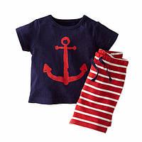 Комплект футболка и шорты Морячок