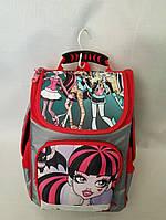 Рюкзак каркасный школьный монстр хай размер 35x25x15 (Ваня 0630283456)