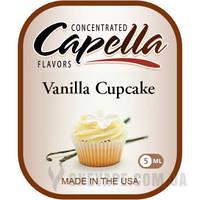 Ароматизатор Capella Vanilla Cupcake (Ванильный капкейк) 5 мл.