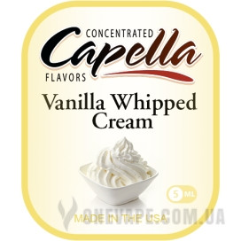 Ароматизатор Capella Vanilla Whipped Cream (Взбитые сливки)