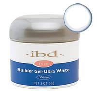 Ультра-белый конструирующий гель IBD Builder Gel Ultra White, 56 г