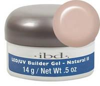 Конструирующий камуфлирующий телесный гель IBD LED/UV Builder Gel Natural II, 14г