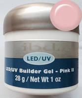 Конструирующий камуфлирующий розовый гель №2 IBD LED/UV Builder Gel Pink II, 28г